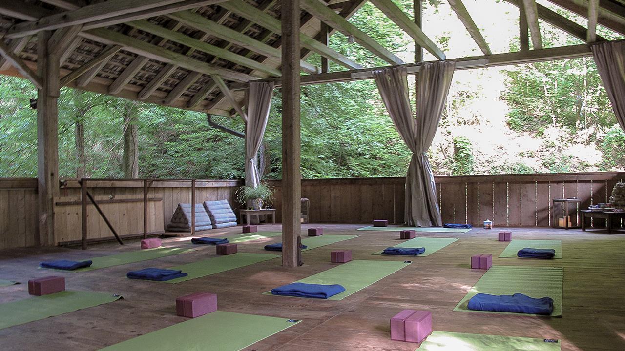 Scheunenboden Yoga-Scheune